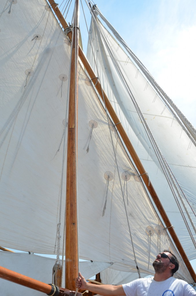 Sailing Falkuša to Palgugruza